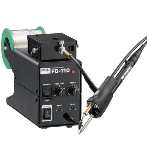 Máy cấp thiếc tự động xẻ chì FD-110 - GOOT