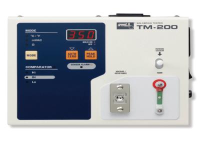 Máy đo nhiệt độ, điện trở mỏ hàn thiếc TM-200