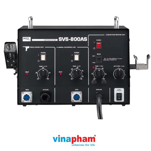 Trạm hàn đa năng tích hợp máy hàn, máy hút thiếc GOOT SVS-800AS